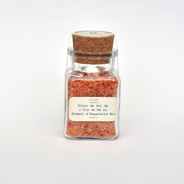 Fleur de sel au piment d'espelette