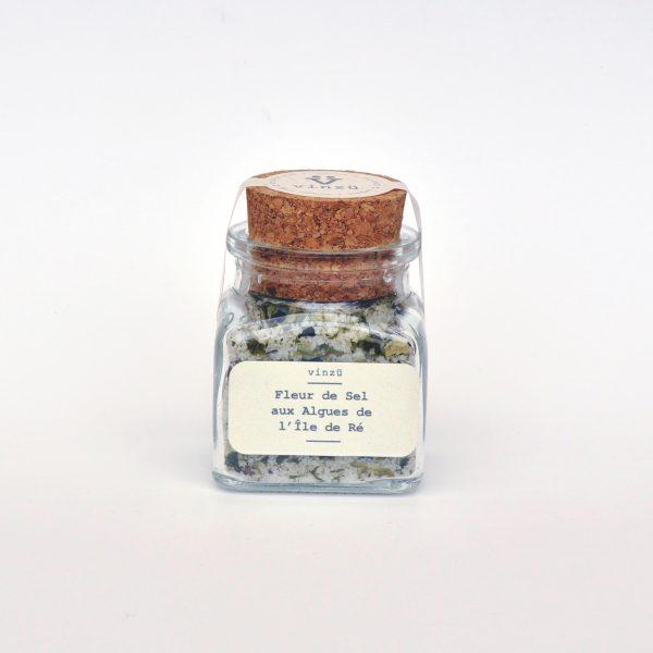 Fleur de sel aux algues de l'ile de re