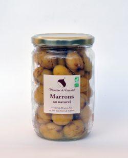 Châtaignes ou marrons au naturel du périgord noir