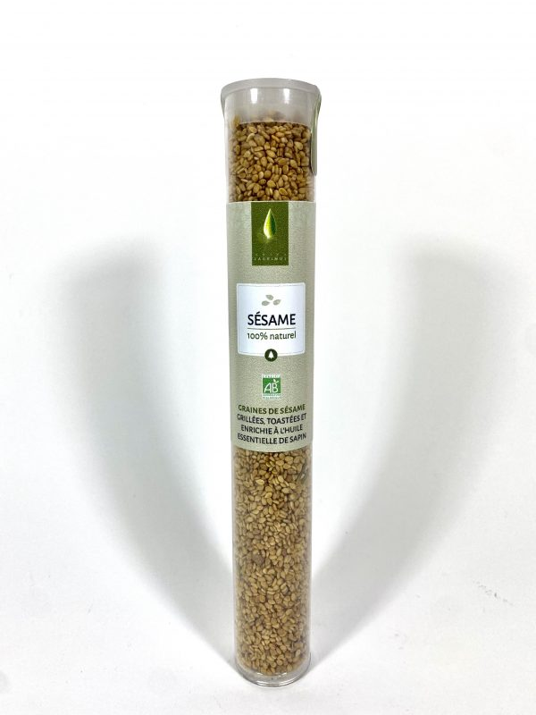 Graines de sésame toastées à l'huile essentielle de sapin